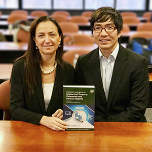 "Professor Irene Calboli discussed her book <span class=""smallcaps"">Research Handbook on Intellectual Property Exhaustion and Parallel Imports</span>, co-edited with Professor Ed Lee."