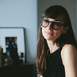 Felicia Ferrone, designer and founder of fferone