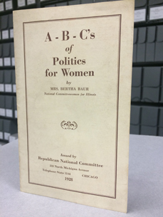 ABCs of Politics for Women by Bertha Baur
