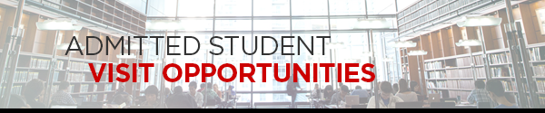 Chicago-Kent Admitted Student Visit Opportunities