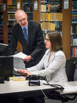Research Librarian with Faculty member