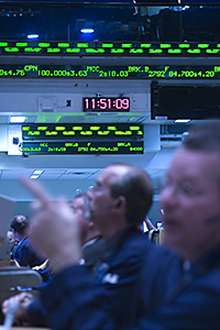 Traders at the American Stock Exchange in New York