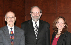 Distinguished Prof. Sheldon Nahmod, Prof. Harry Reicher, and Prof. Felice Batlan