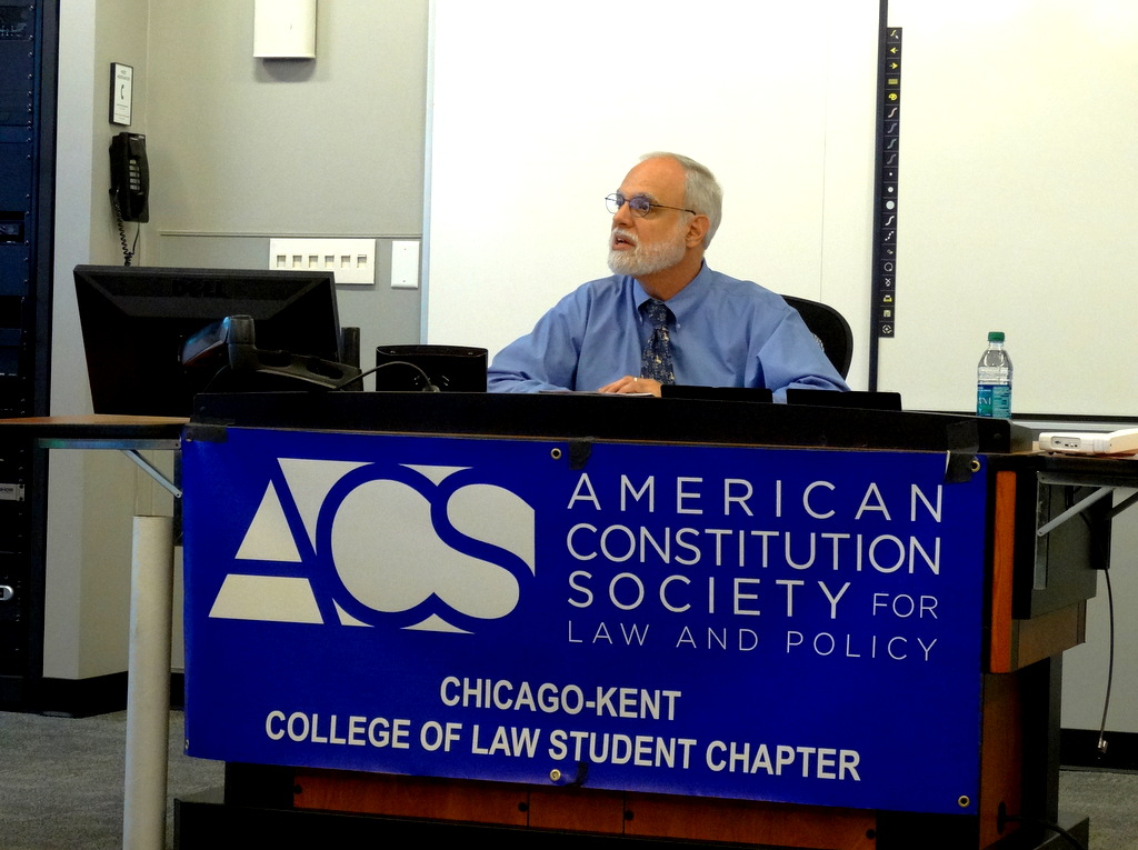Prof. Steven Heyman delivers the 2014 Constitution Day Lecture
