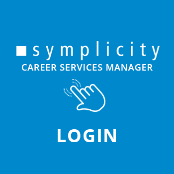 Log in to the Sympllicity Career Services Manager