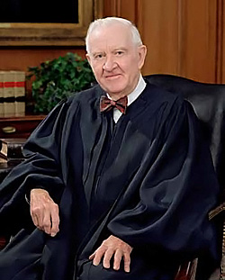 Retired U.S. Supreme Court Justice John Paul Stevens will address the topic