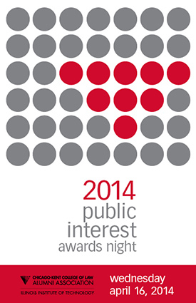 Public Interest Awards Night program cover