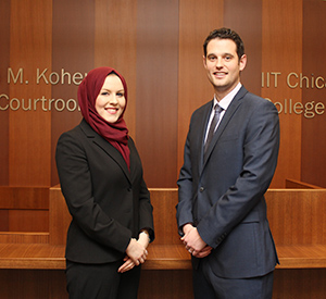 Caitlin Ajax '17 and David Love '17 will compete on one of two Chicago-Kent teams participating in the 2016 ABA National Appellate Advocacy Regional Competition.