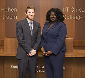 Geoffrey Curley '17 and Rebecca Charles '17 will represent Chicago-Kent in the 2016 Inter-American Human Rights Moot Court Competition.