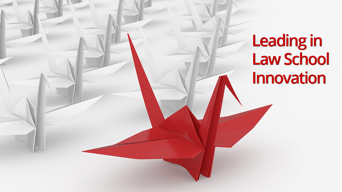 Leading in law school innovation concept image