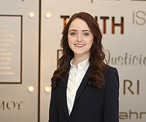 Meaghan Sweeney '17 is won the 2017 Hirsh Award of the American College of Legal Medicine.