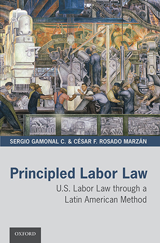 "Book cover for ""Principled Labor Law"""