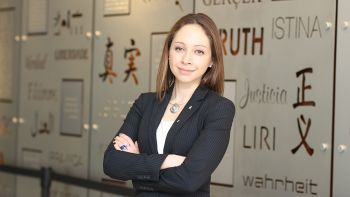 Alexandra Franco '16 was selected for a 2018 Equal Justice Works Fellowship.