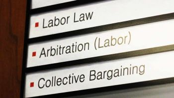 Labor and employment law concept image