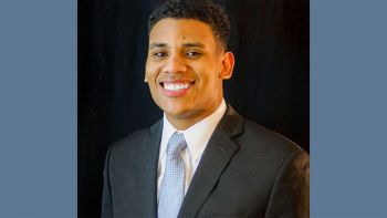 Bryant Roby '20 was one of only two law students selected for a 2019 Hinshaw Diversity Scholarship from the law firm Hinshaw & Culbertson LLP.