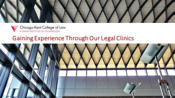 Gaining Experience Through Our Legal Clinic