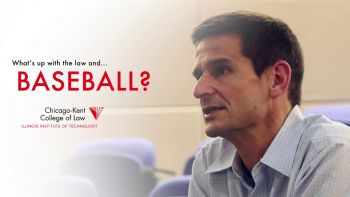 Professor Christopher Schmidt discusses the law and baseball
